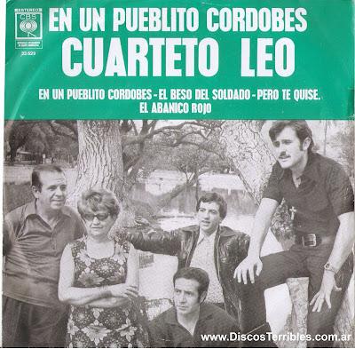 CUARTETO LEO DISCO SIMPLE