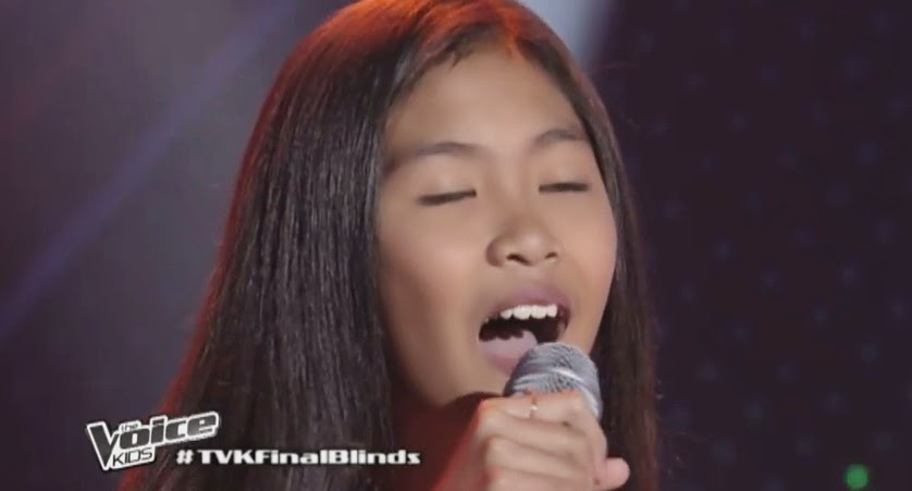 "Diana Agustin sings ""Next in Line"" on 'The Voice Kids' Philippines"