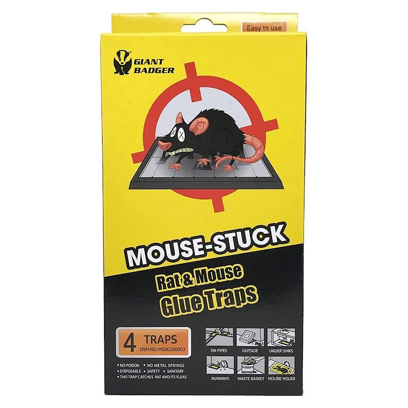 AMAZON - 50% Off Non-Toxic Pest Control Glue Traps 4 pack