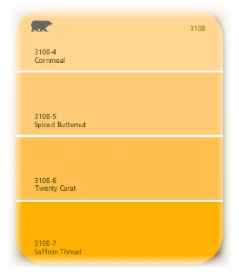 If The Colors Weren T Good Enough You Can Beat Names Behr Has Ed Ernut Florida Mango Which Actually Fits In Well With My Color Recipes