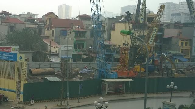 Tiến độ xây dựng Sunrise Lê Văn Lương