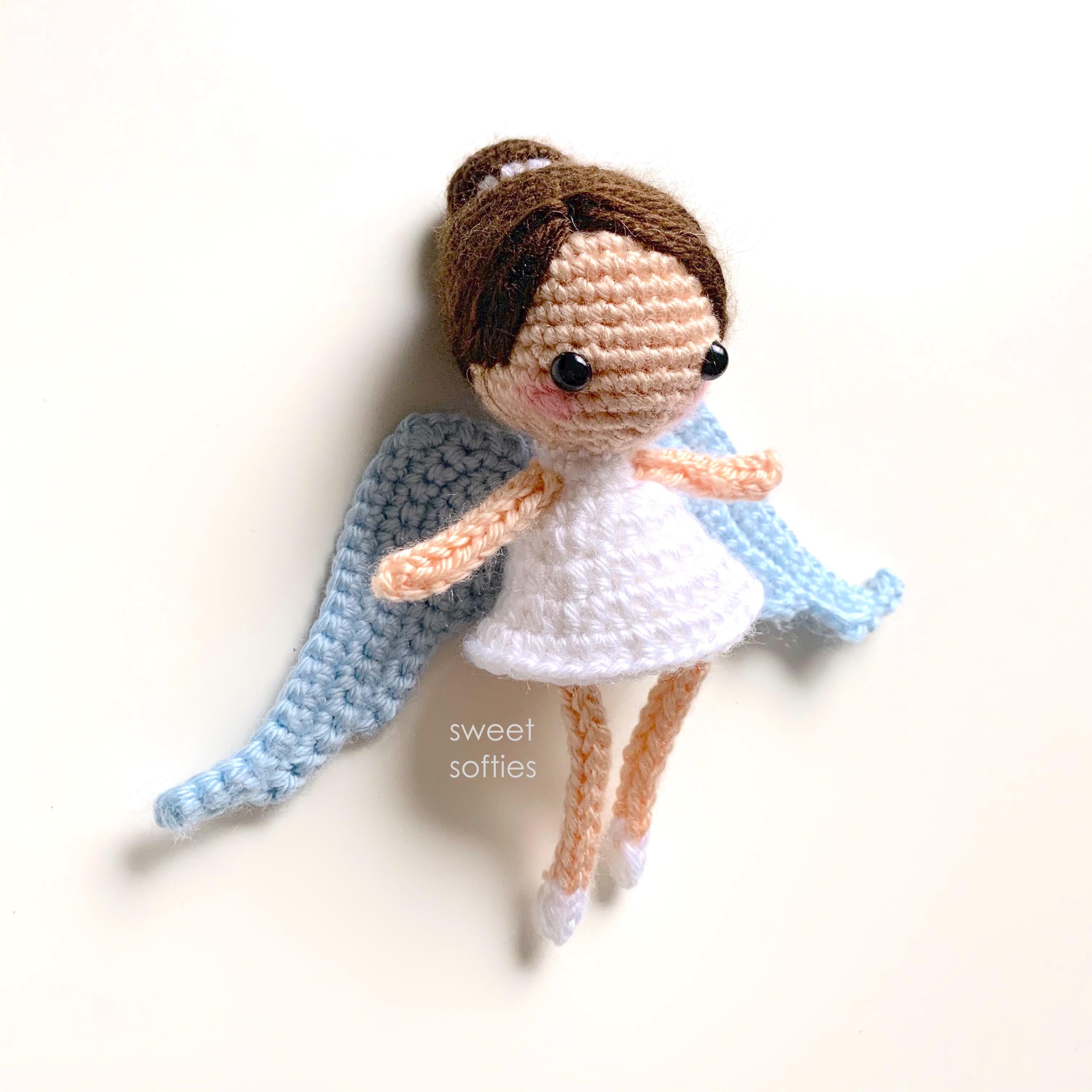 Angel Amigurumi - Free Crochet Pattern Loops & Love Crochet | 3024x3024