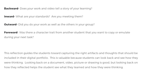 """Authentic Audiences"" argument -- Crossbraining offers this support for digital portfolios"