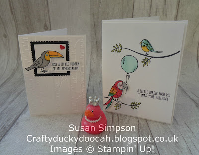 #lovemyjob, #stampinupuk, Bird Banter, Coffee & Cards project April 2018, Craftyduckydoodah!, Supplies available 24/7. from my online store,