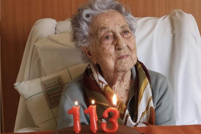 Maria Branyas, Wanita Tertua Asal Spanyol Yang Sembuh Dari Covid-19