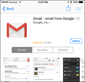 gmail app download for android