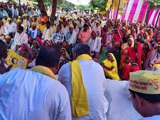 FB_IMG_1568630913812 जनपद आजमगढ़ के मार्टीनगंज तहसील परिसर में एक दिवसीय धरना प्रदर्शन को संबोधित किया गया।