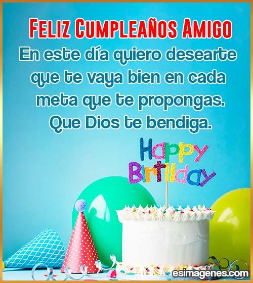 cumpleaños del amigo