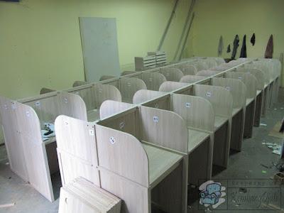 Harga Meja Kubikel Kantor + Furniture Semarang ( Cubicle Workstation )