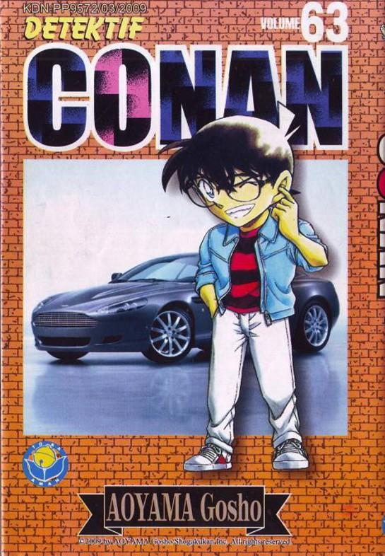 Detective Conan-เล่ม 63