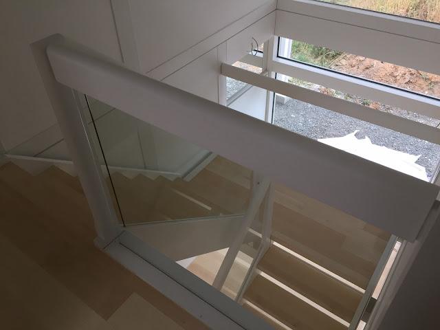 modernes Fachwerkhaus - Treppenhaus Modum