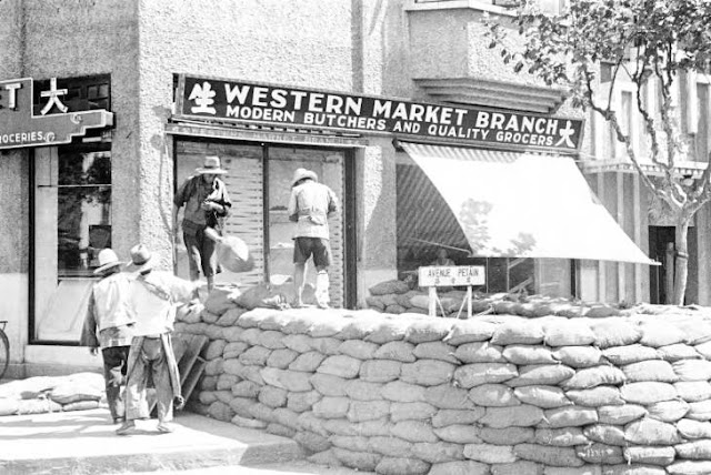 Western Market Branch Shanghai, China, 1937. Source: University of Wisconsin, Milwaukee