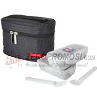 Lock & Lock Lunch Box Set with Black Bag - HPL752DB