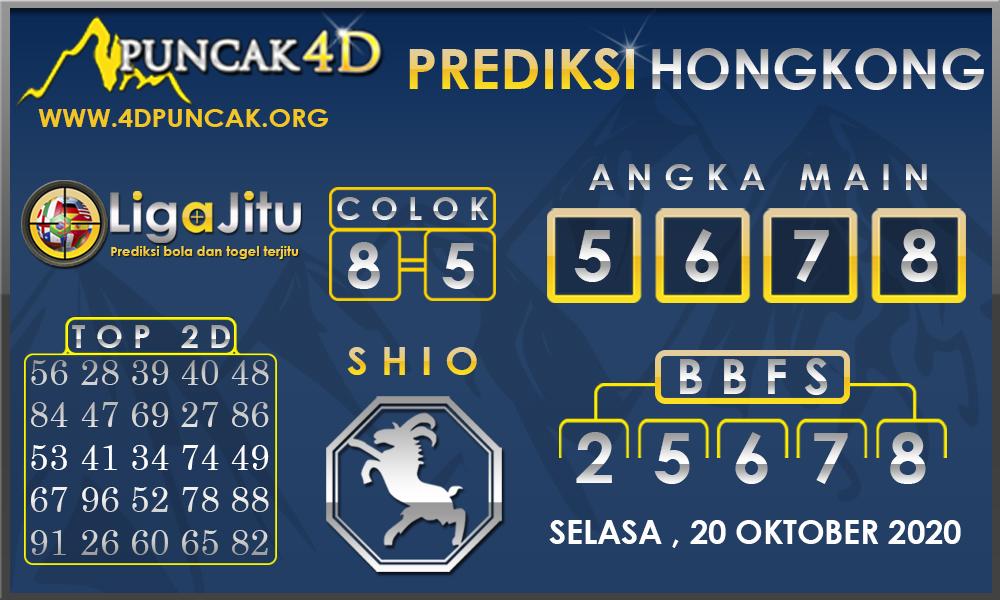 PREDIKSI TOGEL HONGKONG PUNCAK4D 20 OKTOBER 2020