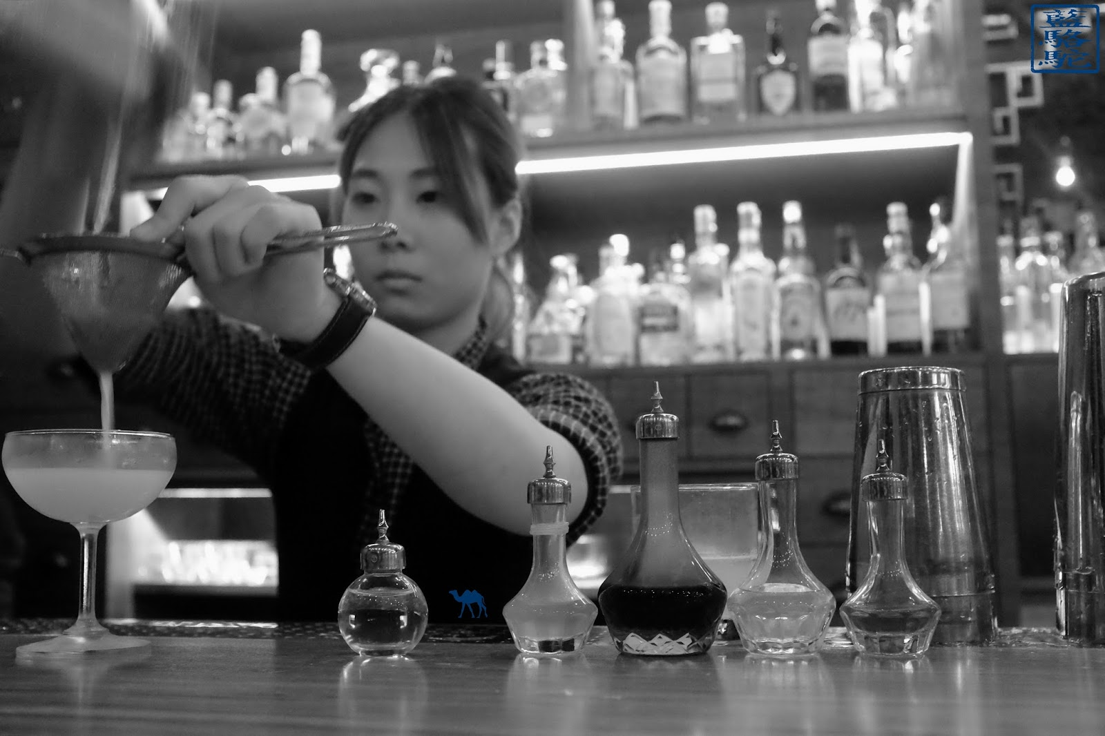 Le Chameau Bleu - Barmaid du R&D Cocktail Lab - Taipei