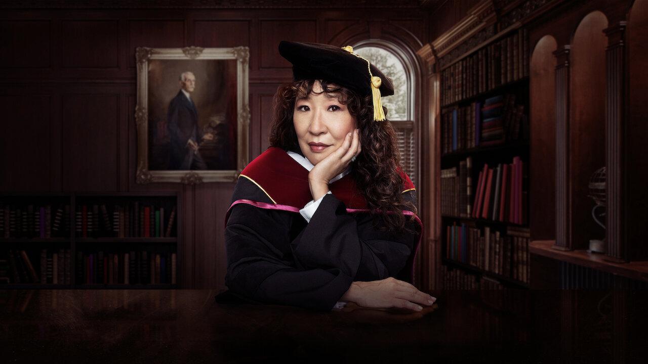 Poster de The Chair con Sandra Oh