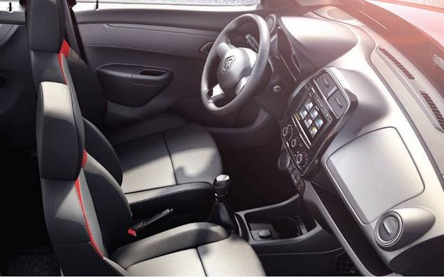 Novo Renault Kwid 2017 - interior