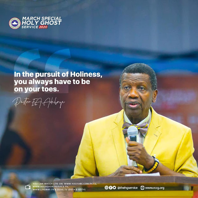 PRAYER POINTS ON TODAY'S OPEN HEAVENS 13 MARCH 2020 FRIDAY