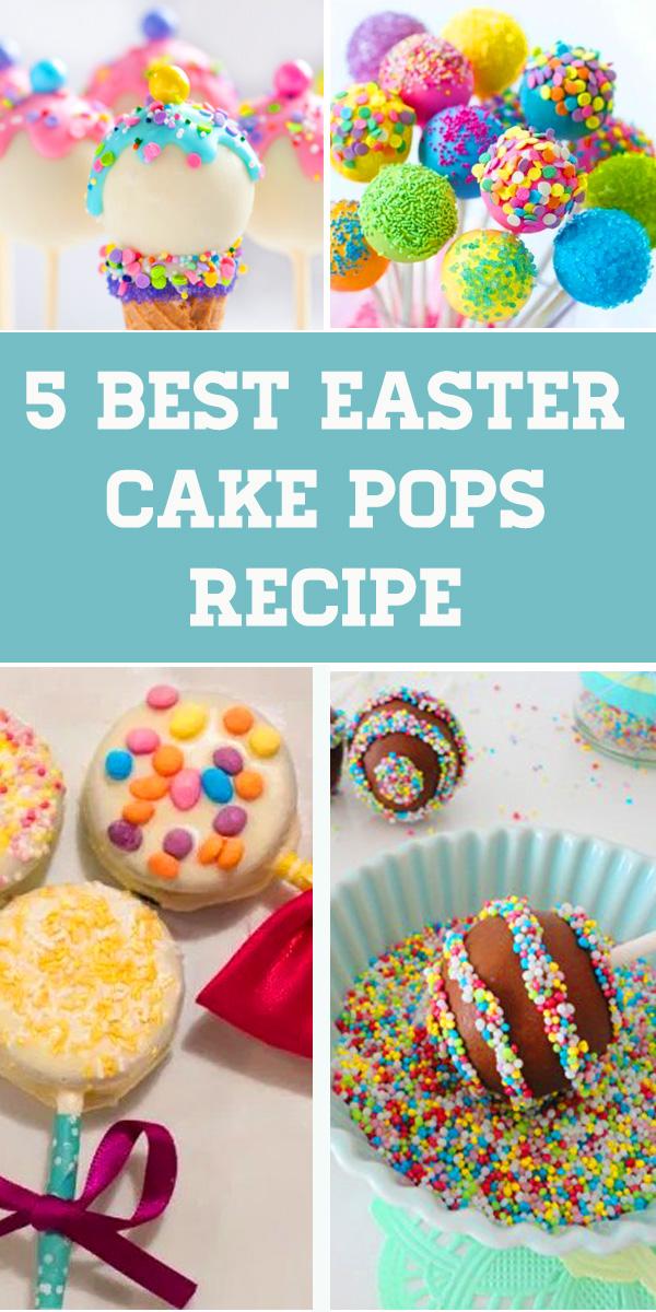 5 Easter Cake Pops Ideas Easy for Kids. DIY Recipe explain How to Make Simple Easter Cake Pops for Easter Dessert. Cake pops recipe, Easter treats, Cake pops ideas, Cake balls, Easter desserts, Easter cake ideas. #cakepopsrecipe #eastertreats #cakepopsideas #easterdesserts #eastercake #easter #egg #cakeballs #diy #cakepops