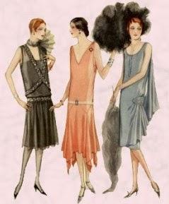 Resultat d'imatges de moda 1920