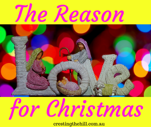 In between the tinsel, sparkle, food and family - lets remember the reason for Christmas - Jesus birth