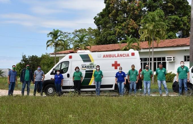 Prefeitura adquire mais uma ambulância nova para atender a população