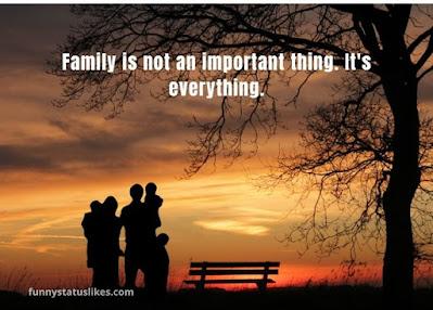 enjoying with family status
