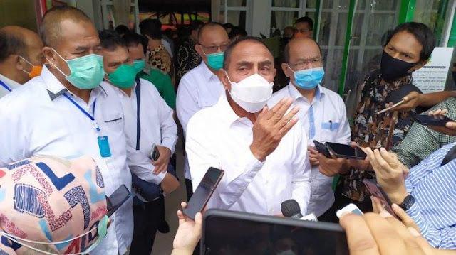 Gubernur Sumatera Utara Edy Rahmayadi Menyebutkan Syarat Ketat Prokes Di Angkot Sebelum Sekolah Tatap Muka Saat Pandemi Corona