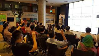 Alaric Ong conducting seminar