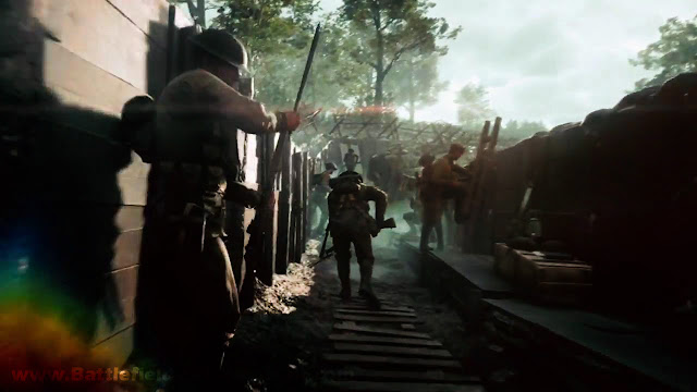 Battlefield 1 Trench