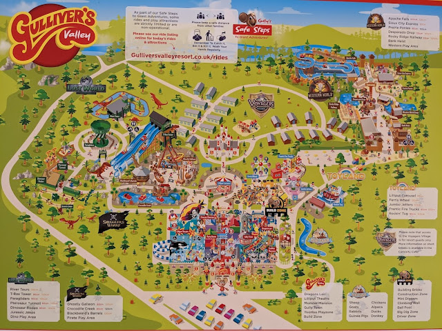 Gulliver's Valley Stay & Play Review Map