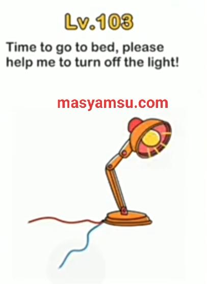 Sudah Ngantuk Nih Tolong Matikan Lampu Ya Brain Out : sudah, ngantuk, tolong, matikan, lampu, brain, Jawaban, Brain, Level, Matikan, Lampu, Gamers, Smart