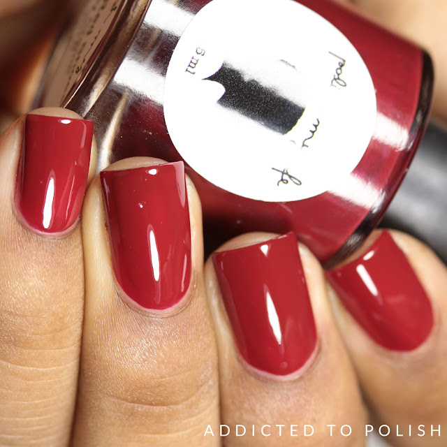 Polish My Life Ruby Red Shoes
