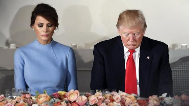 Melania Trump skips Davos, makes unannounced trip to Florida