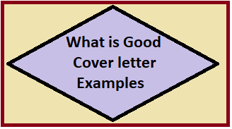 Good Cover letter