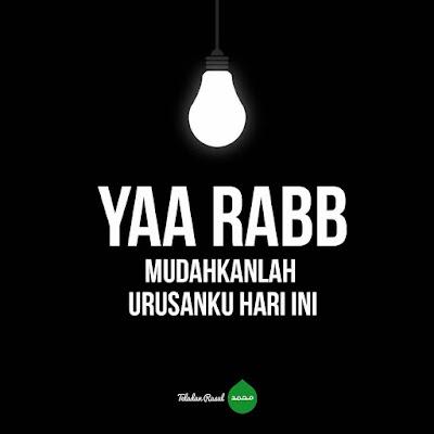 doa islami bergambar di mudahkan urusan