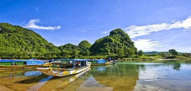 Dòng sông Son - Phong Nha Kẻ Bàng