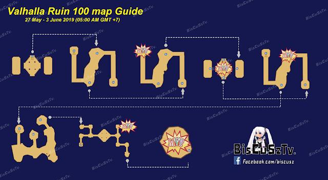 Map Guide VR 27 Mei sampai  3 Juni 2019