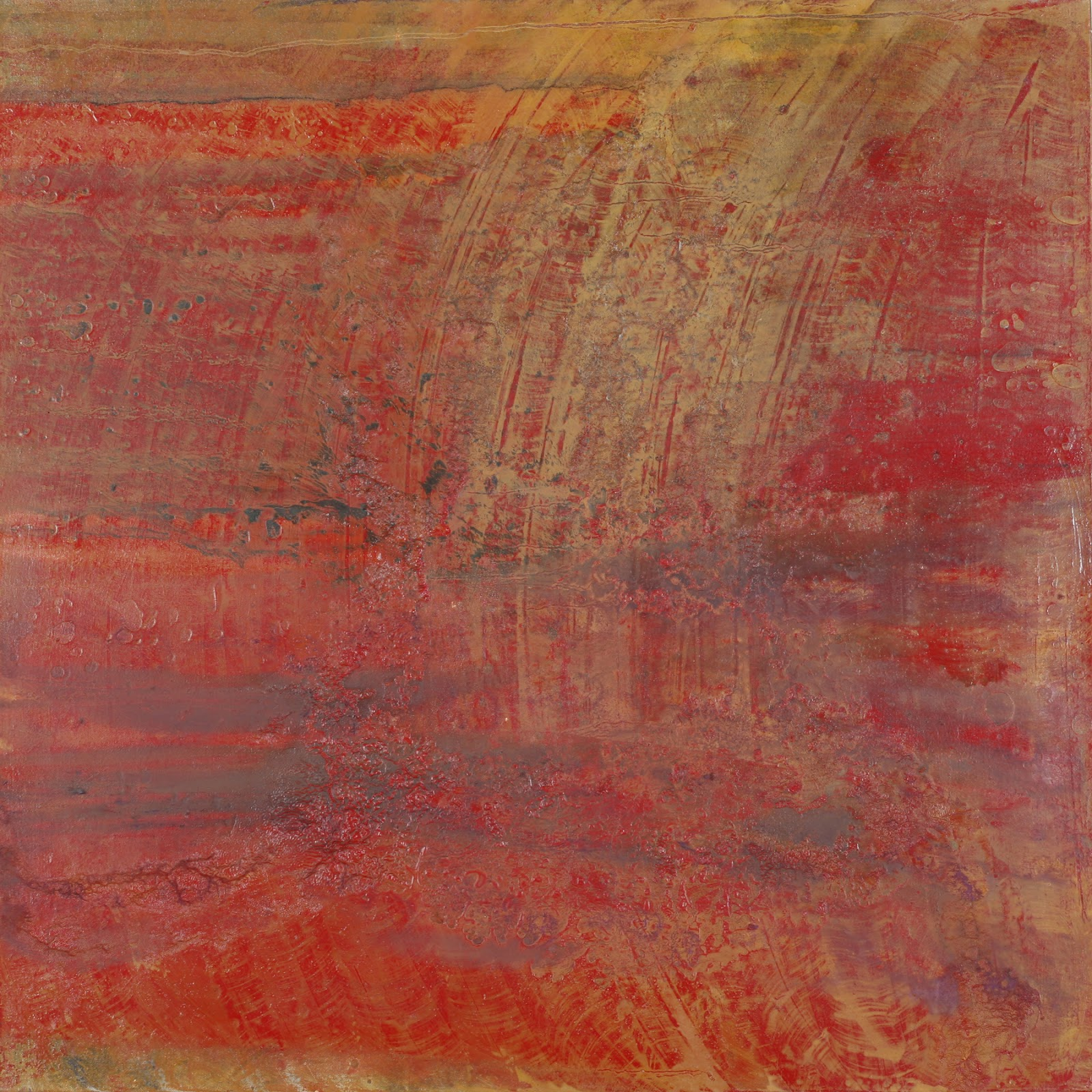 Image of the abstract painting entitled Dvorak III by artist Martha Hope Carey