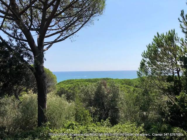 Castiglione-Pescaia-affitti-estivi-casa-al-mare-VISTA-MARE
