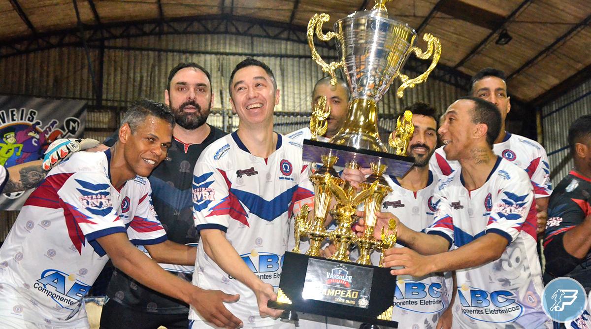 Ômega Futsal é bicampeão da Copa Vassoler Veteranos