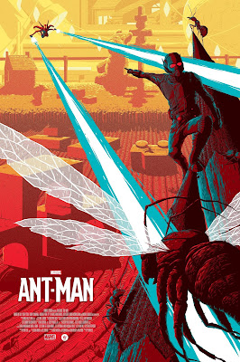 Ant-Man Regular Edition Marvel Screen Print by Florey x Grey Matter Art