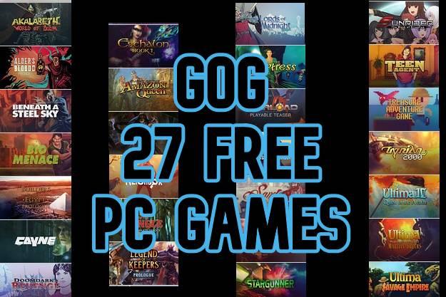 [Προσφορά]: Το GoG χαρίζει 27 παιχνίδια για υπολογιστές για να μείνουμε σπίτι