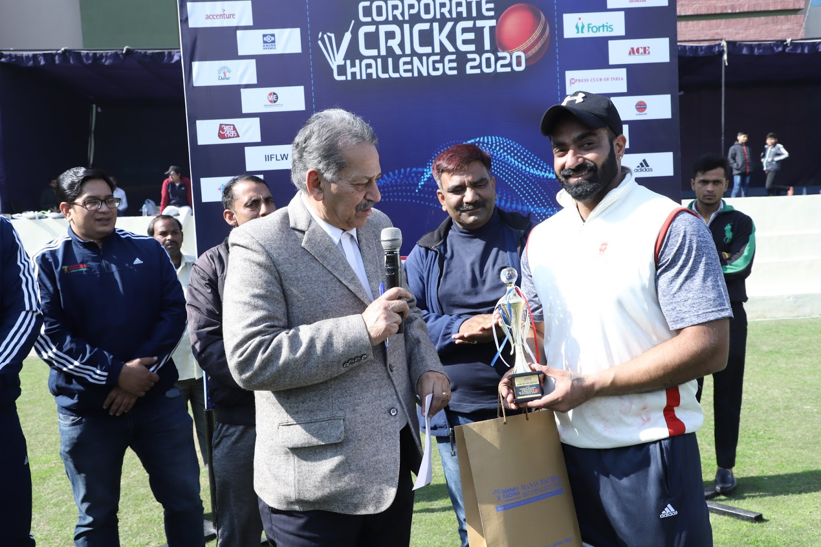 Manav Rachna 13th Corporate Cricket Challenge : Accenture team Won by match  7 wicket