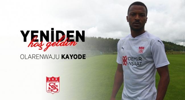 Olarenwaju Kayode Sivasspor da kalacak mi ?