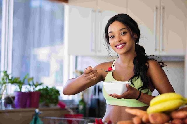 A beautiful women is a healthy women - meet new year 2021
