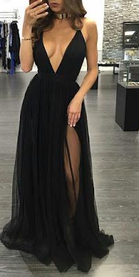 vestido de graduacion