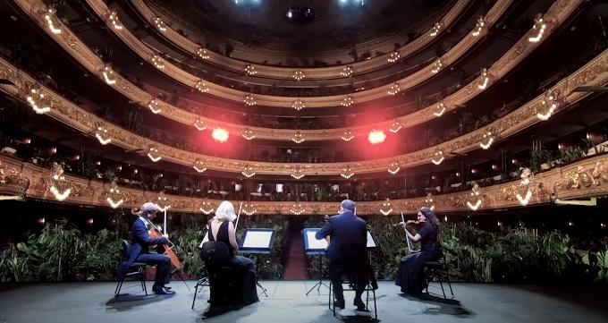 El Gran Teatre del Liceu de Barcelona reabre sus puertas con un concierto para más de 2.000 plantas
