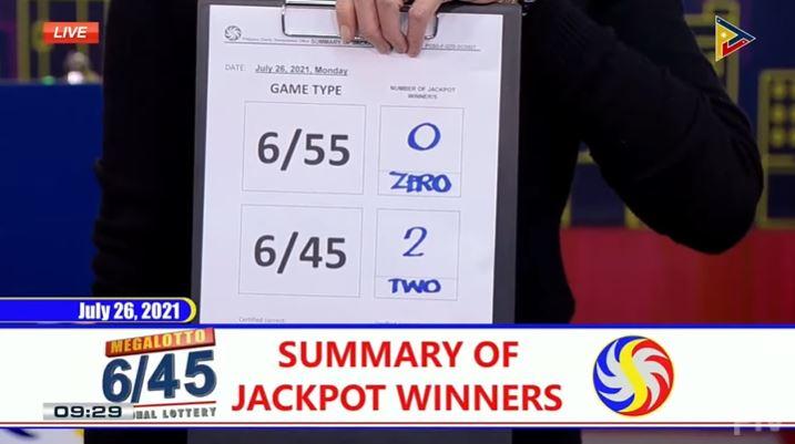 2 bettors win Php 36-M Mega Lotto 6/45 jackpot
