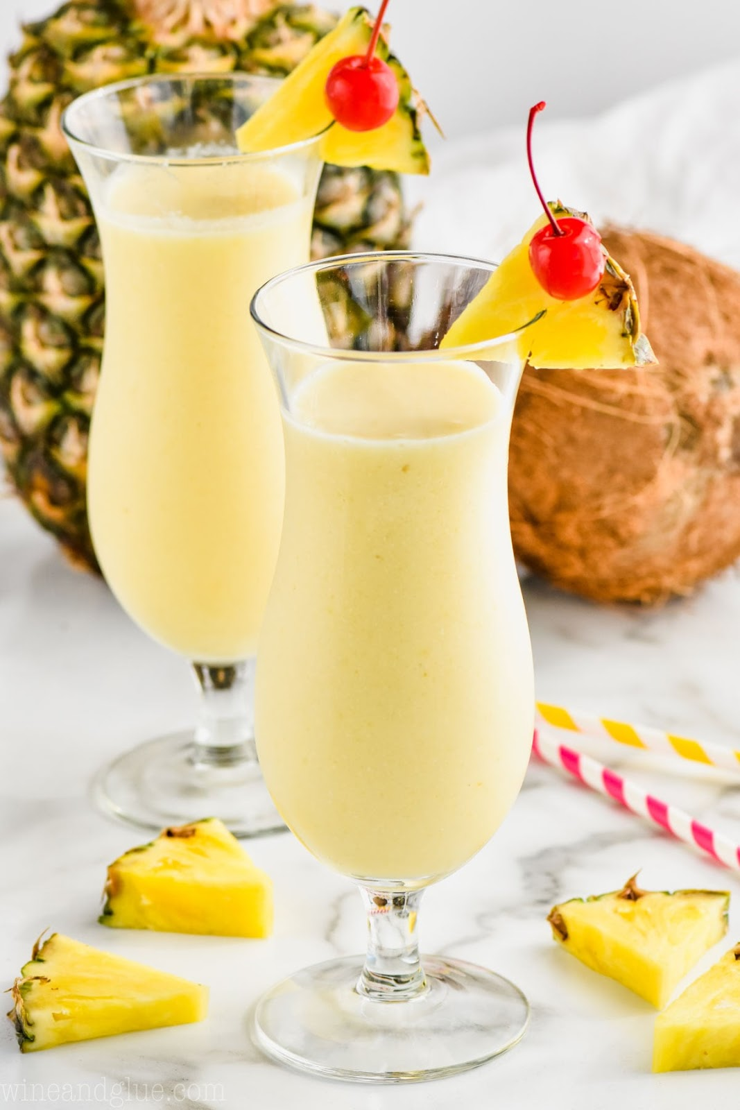 Pina Colada #drink #smoothie #cocktail #party #yummy